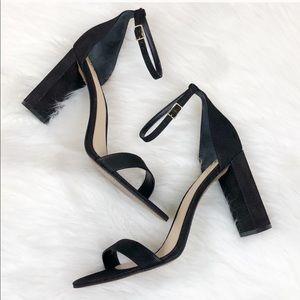NIB Vince Camuto Black Ankle Strap Sandals sz 11